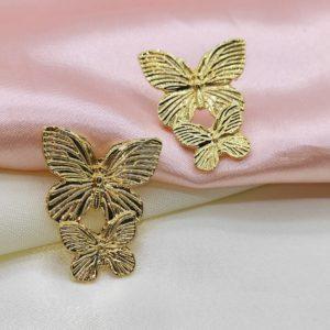 Aretes de mariposa