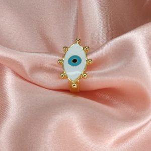 Anillo de ojo turco