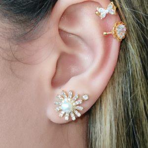 Ear Cuff con forma de gota