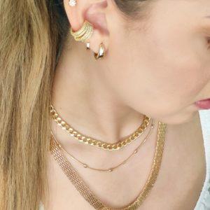 Collar cadena Rose gold