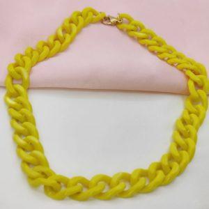Oferta Especial Collar amarillo